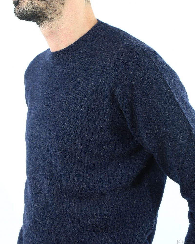 Pull bleu Il Cammello Toscano