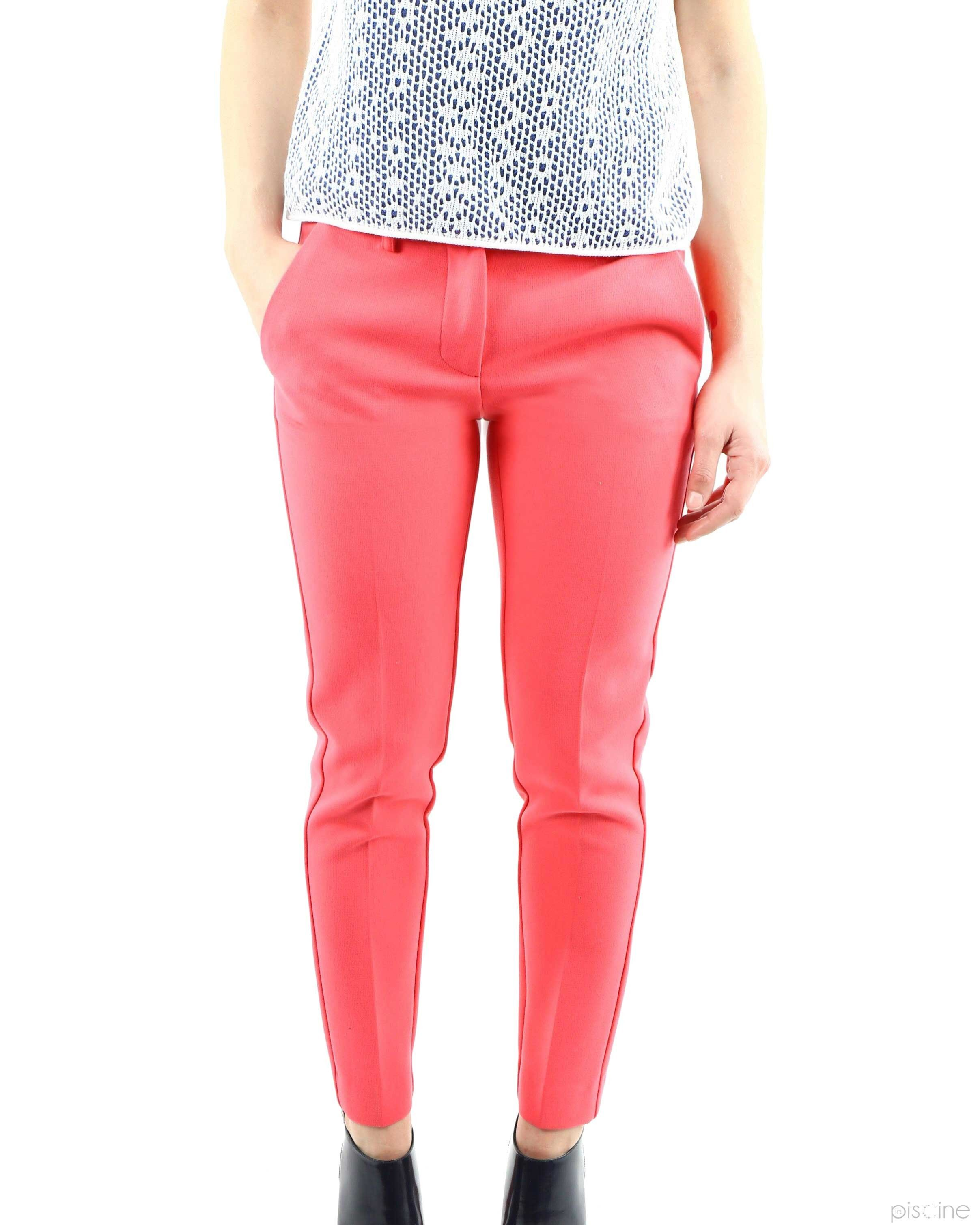 Pantalon à plis rose Space