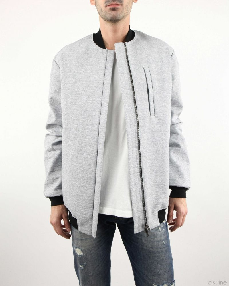 Bomber gris Lost & Found