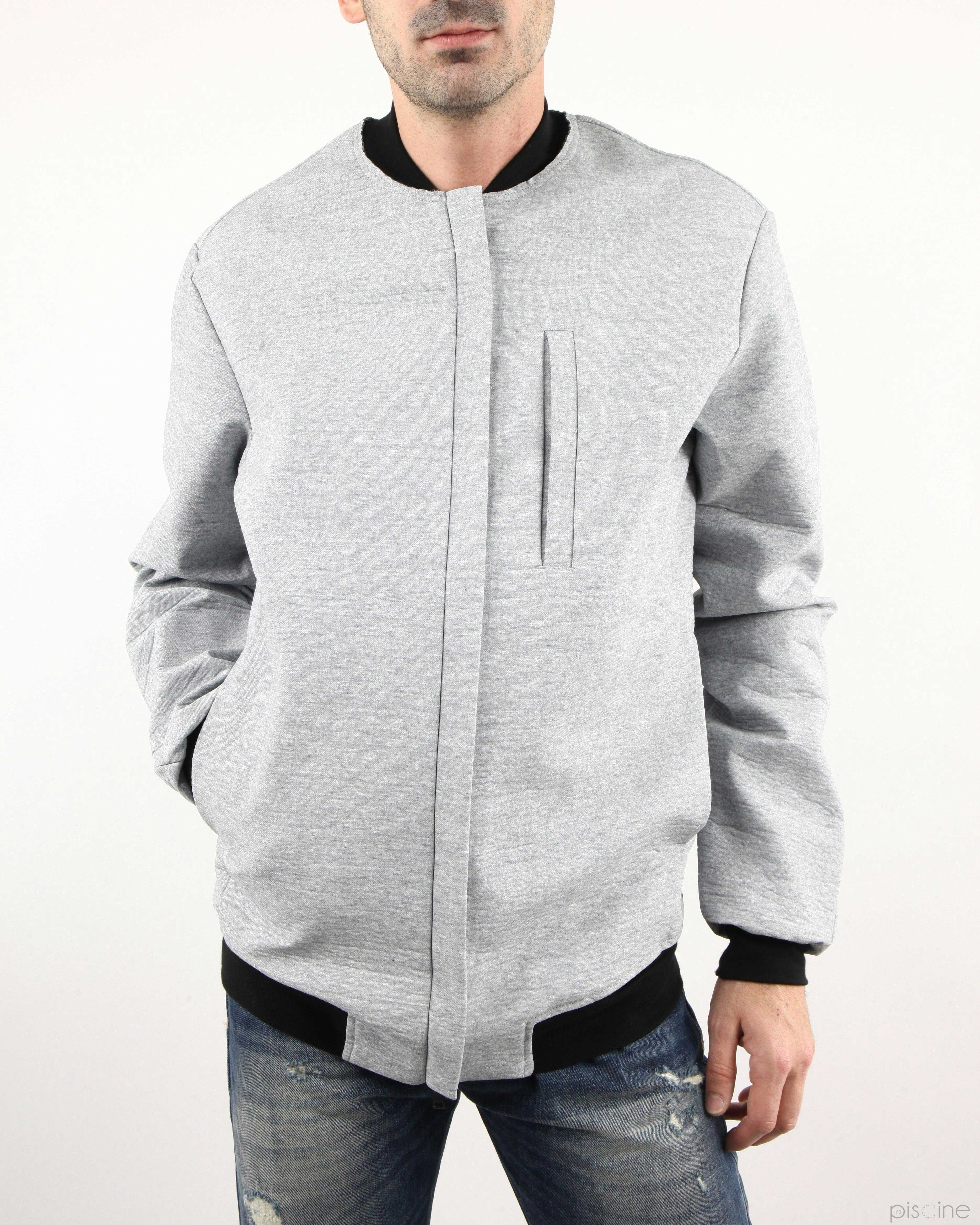 Blouson gris Lost & Found