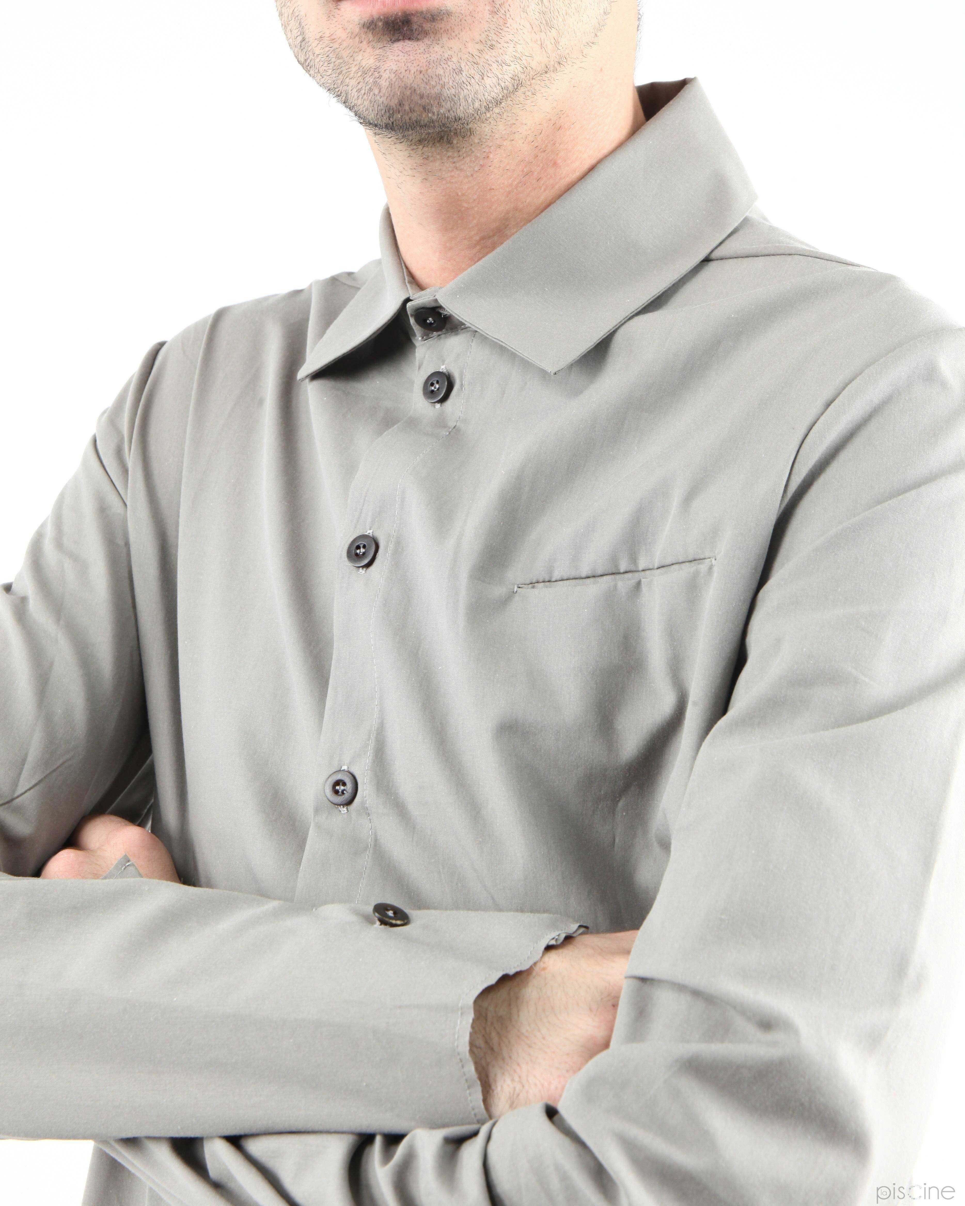 Chemise taupe Lost & Found