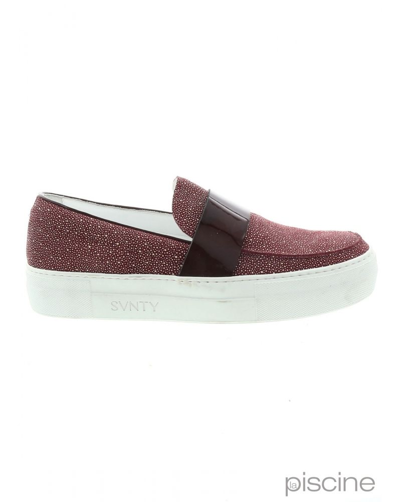 Mocassin casual bordeaux SVNTY