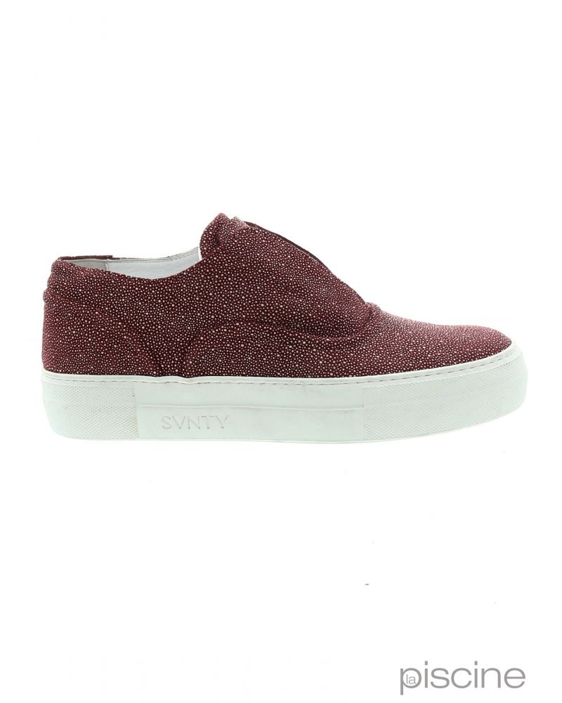 Slip on bordeaux SVNTY