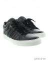 Baskets cuir noir SVNTY