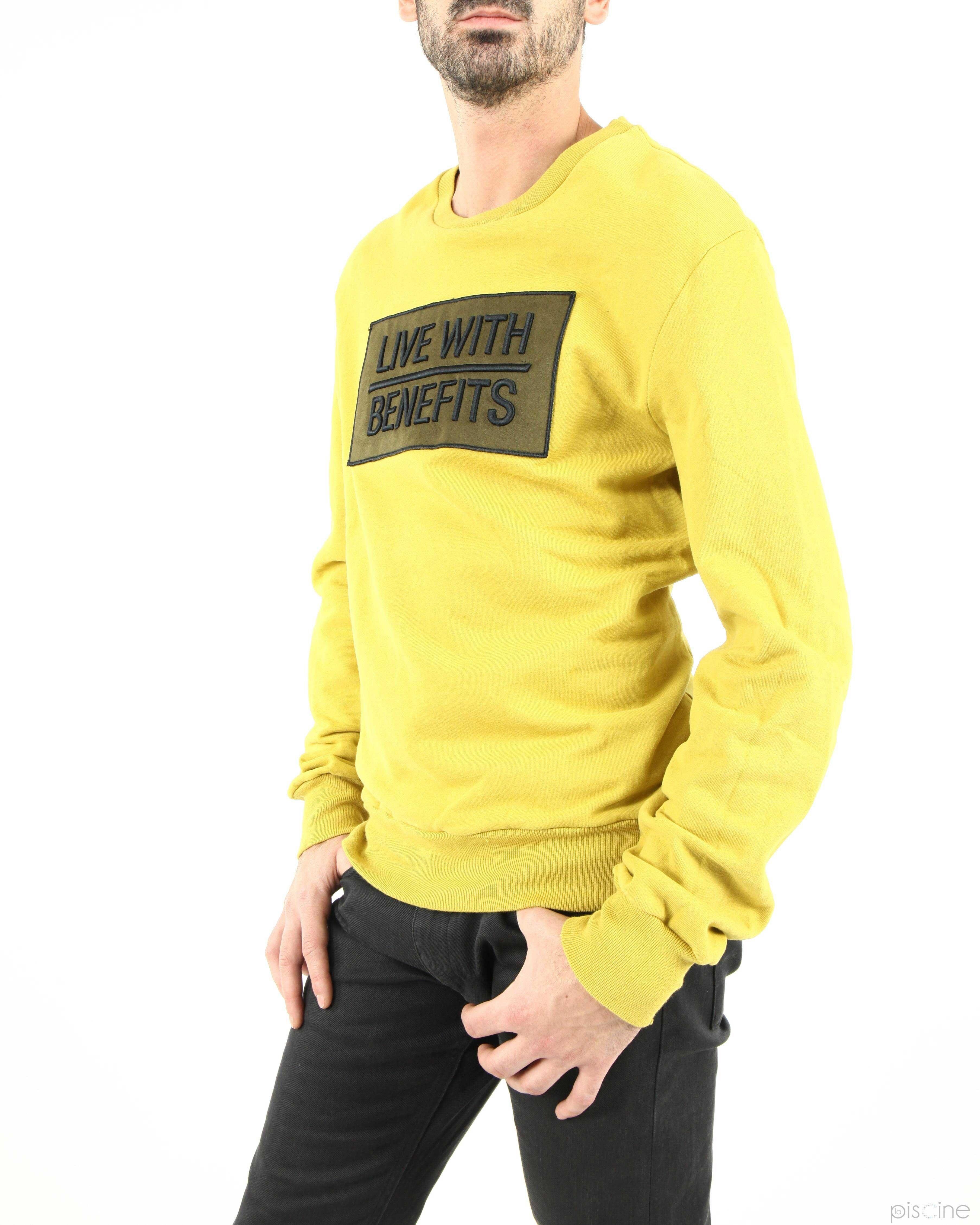 Sweat jaune Low Brand
