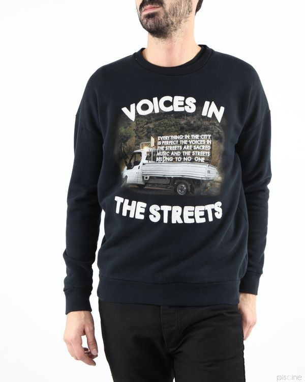 """Sweat noir """"Voices in the streets"""" Each x Other"""