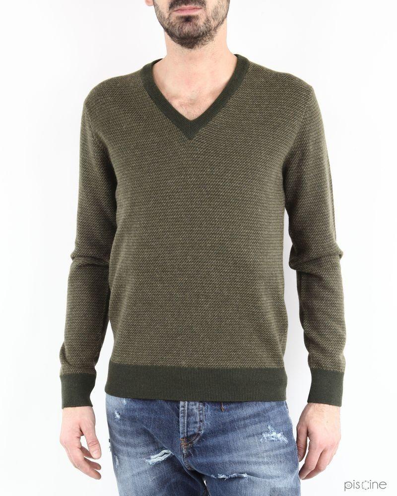 Pull effet chiné en laine et alpaga Edition M.R