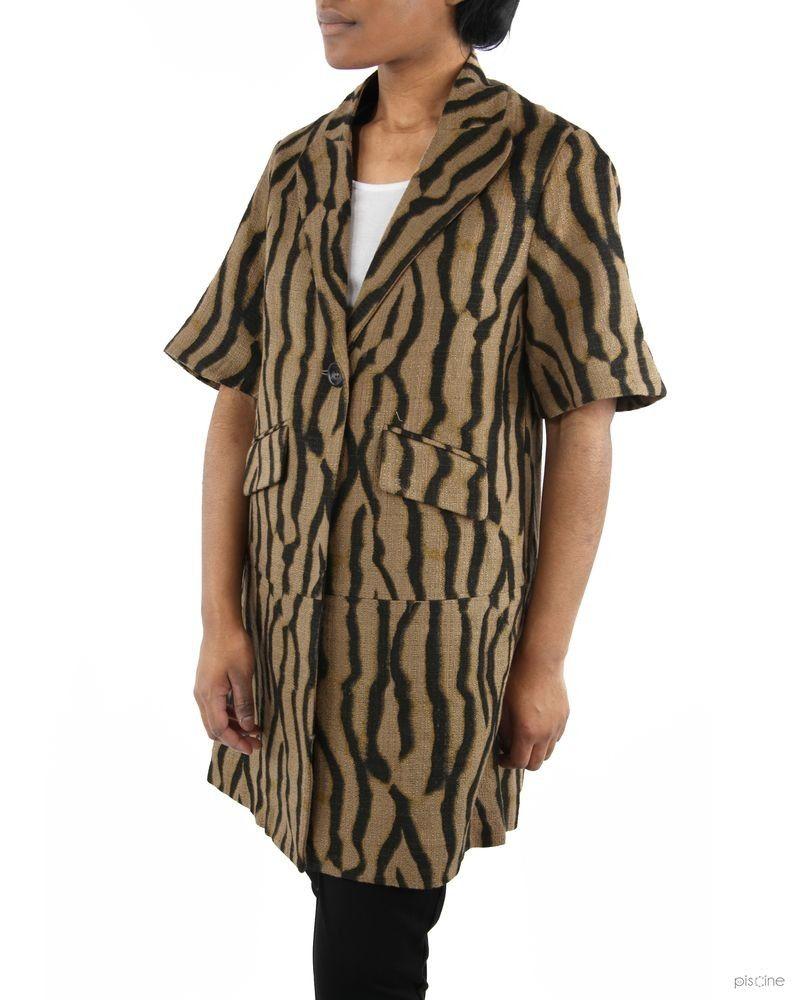 Manteau marron Soho de Luxe