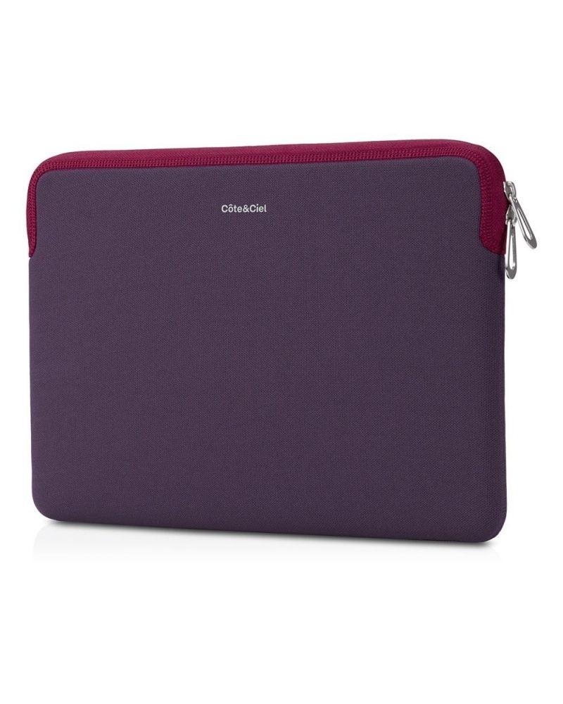 Pochette zippée violette Cote et Ciel