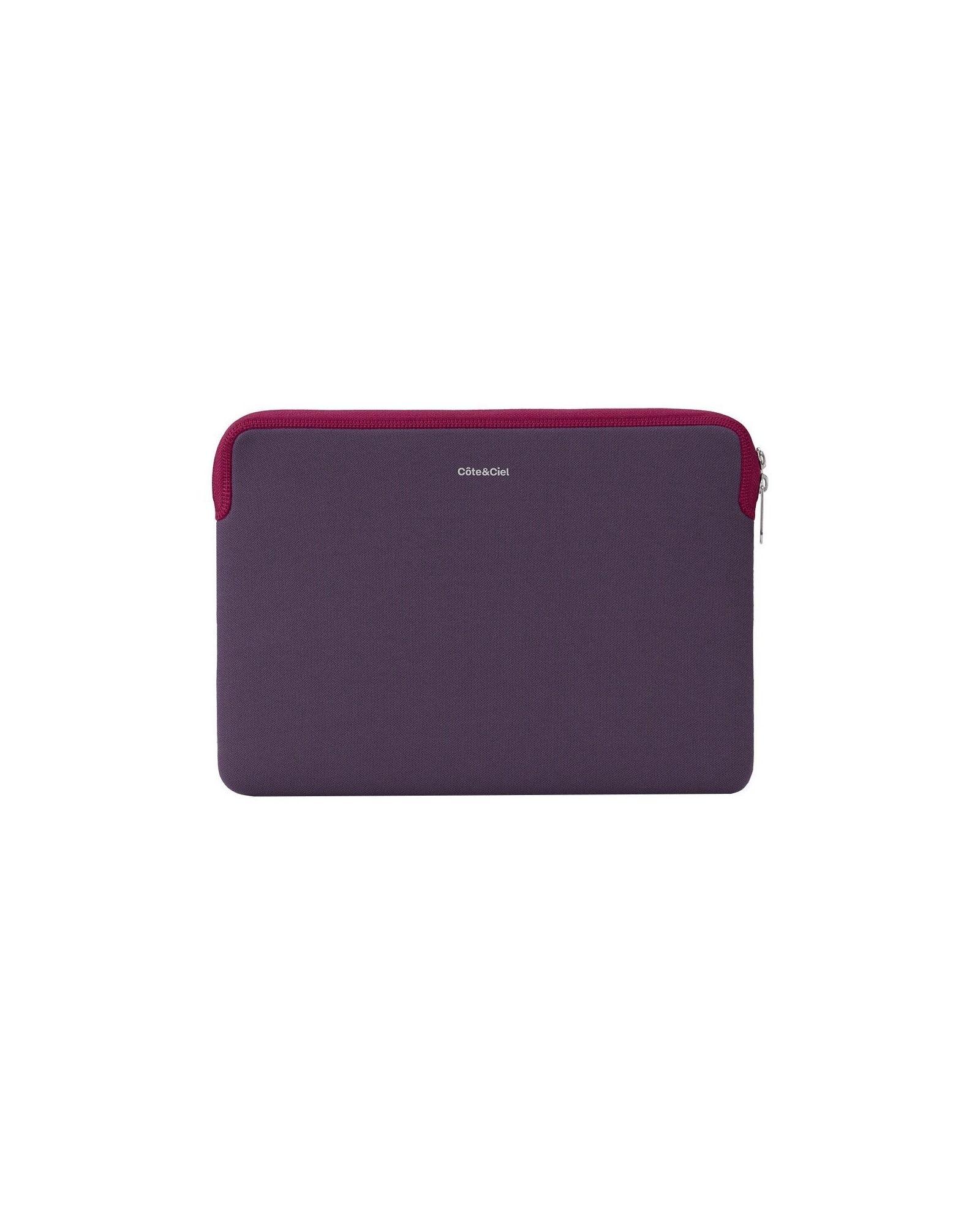 Pochette zippée violet Cote et Ciel