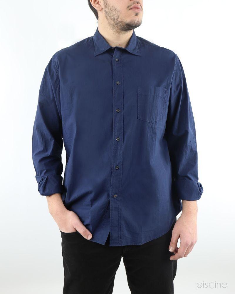 Chemise bleue oversize Hartford