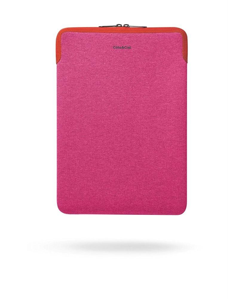 Pochette ordinateur zippée rose Cote & Ciel