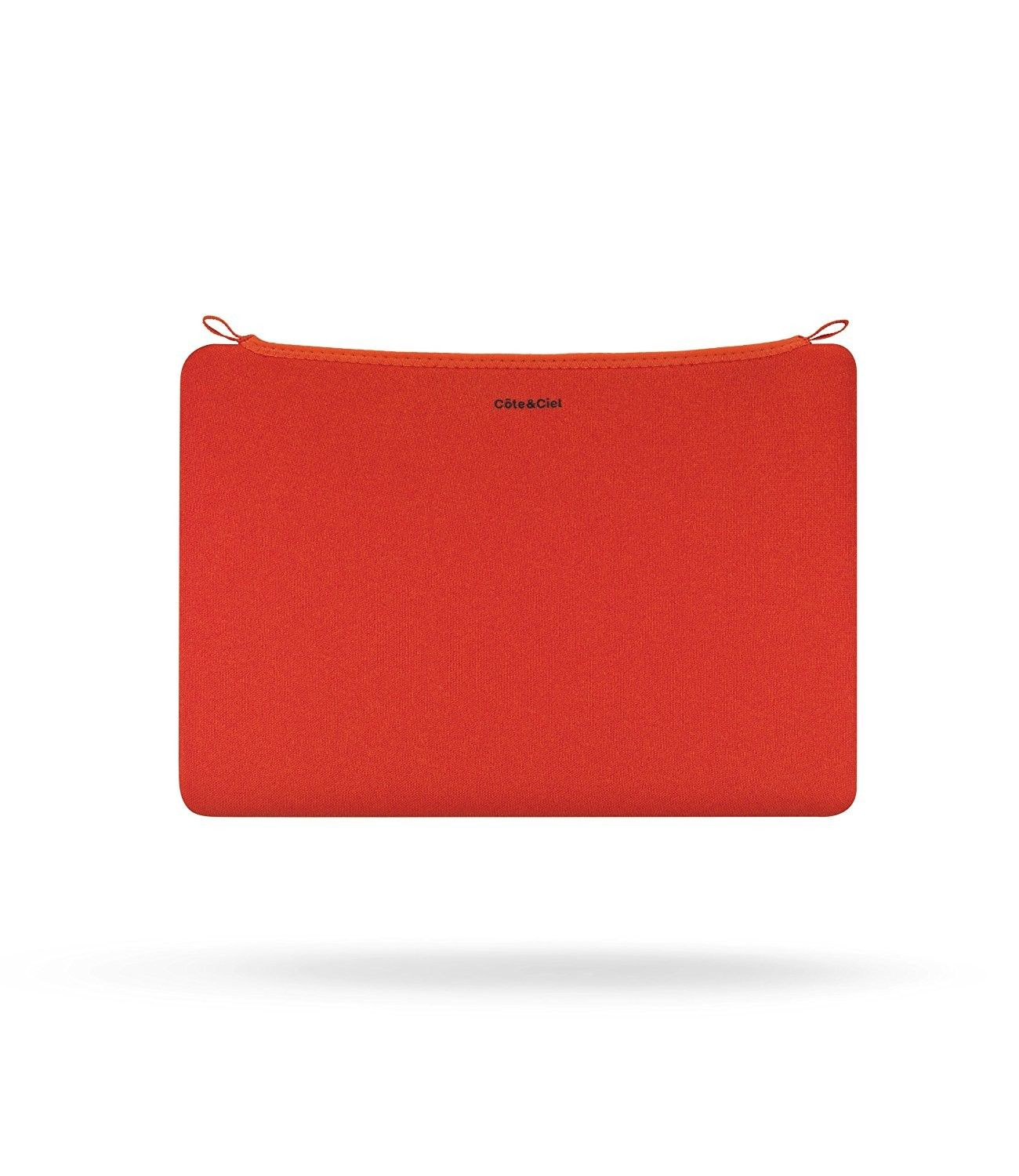 Pochette ordinateur orange Cote & Ciel