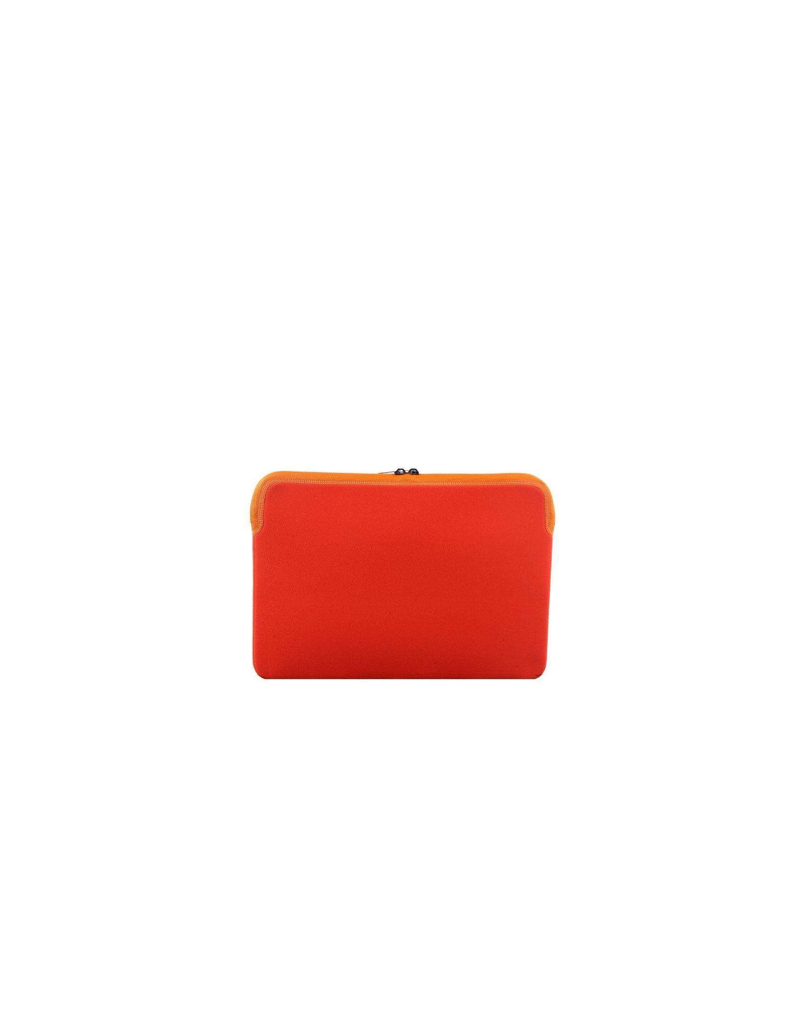 Pochette ordinateur zippée orange Cote & Ciel