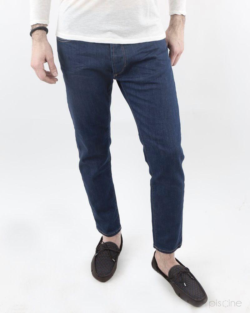 Jean bleu brut droit Low Brand