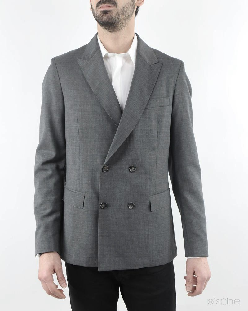 Veste de costume grise Low Brand