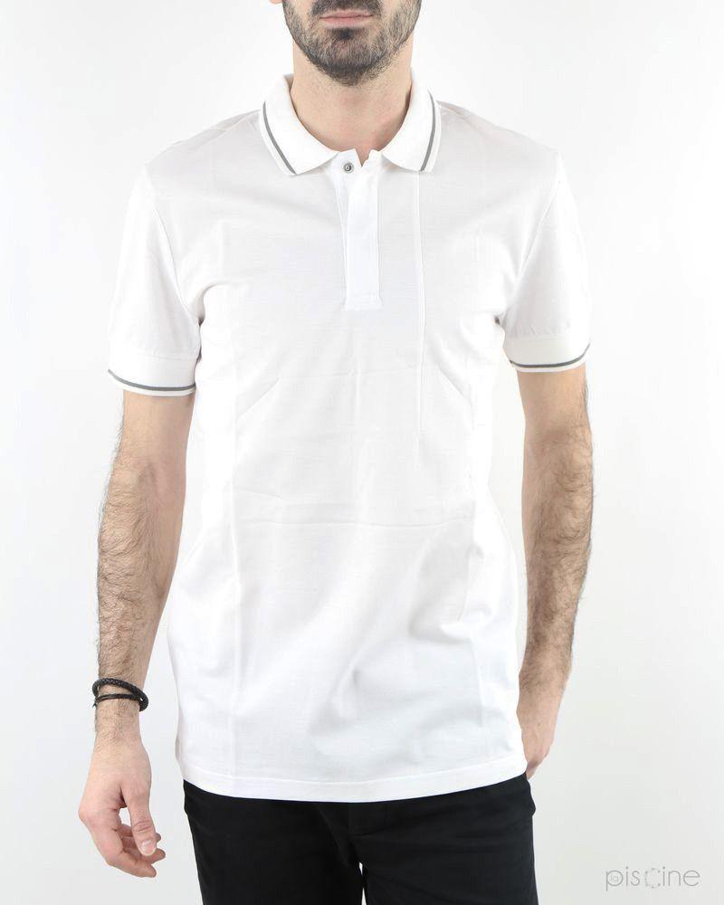 Polo blanc Low Brand