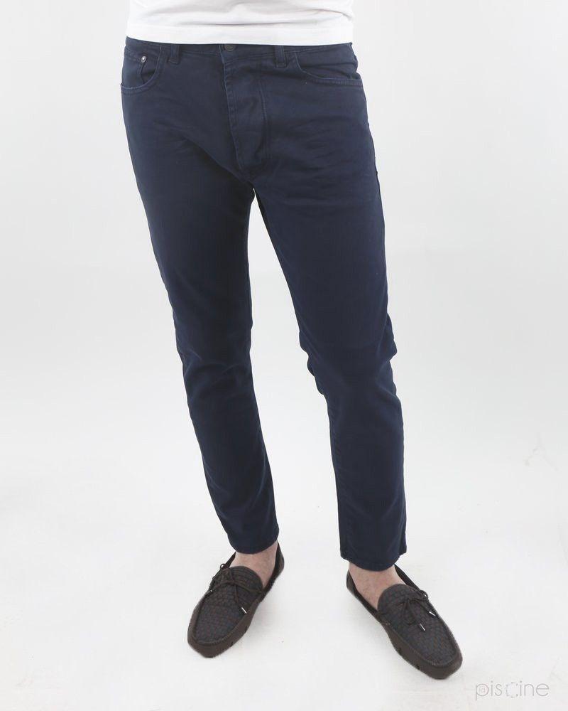 Jean bleu Low Brand
