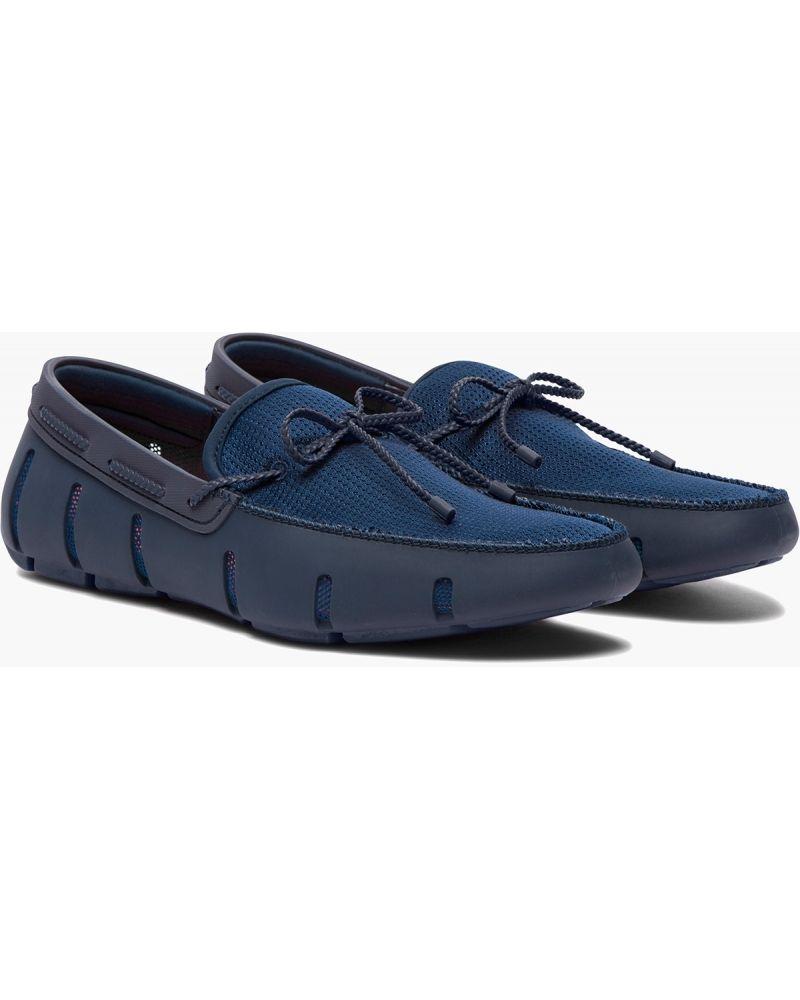 Chaussures bateau bleues Swims