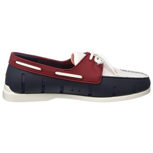 Mocassin bleu et rouge Swims