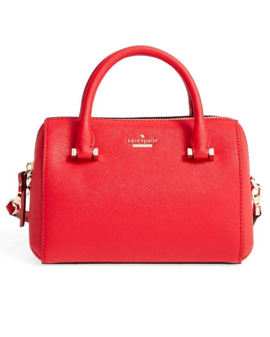 Petit sac cabas rouge Kate Spade