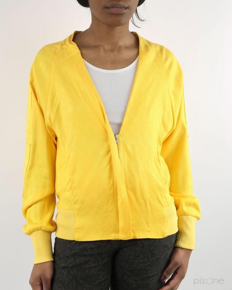 Veste jaune zippée Damir Doma
