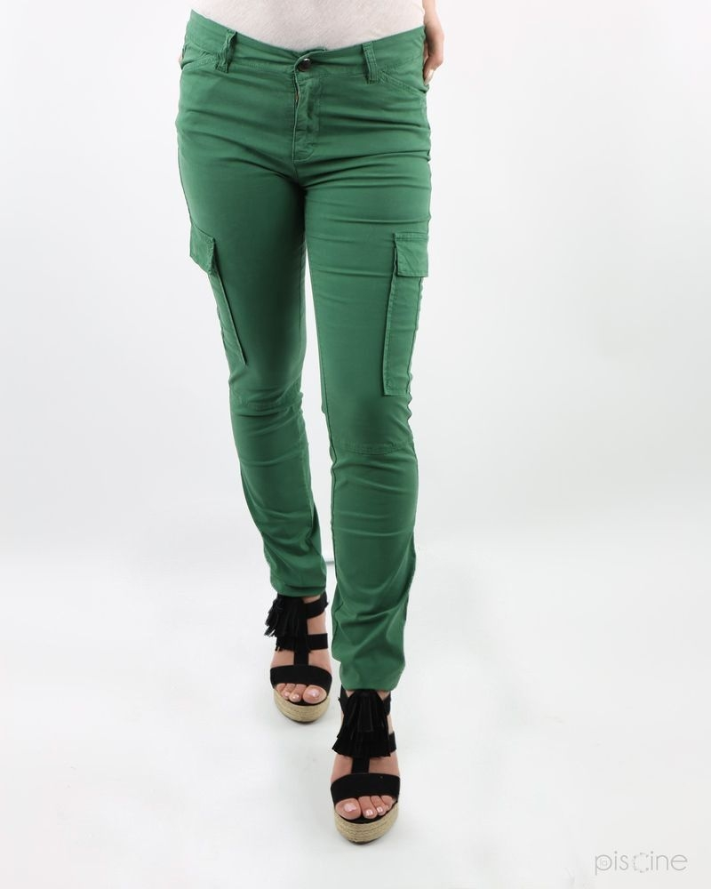 Pantalon cargo vert May June