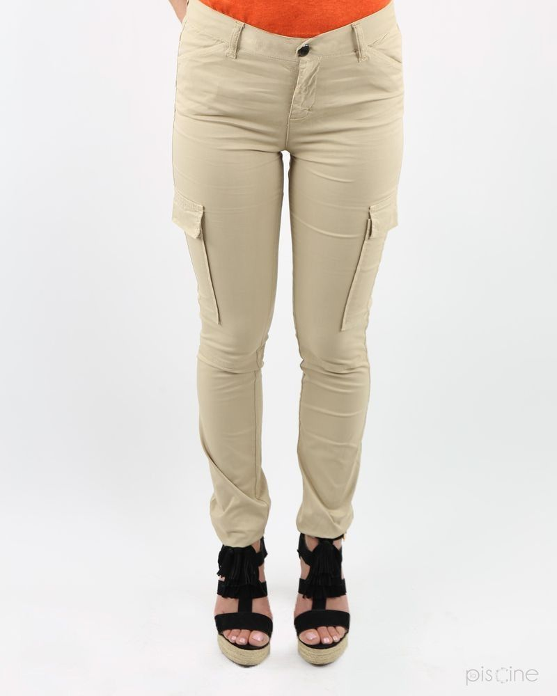 Pantalon cargo beige May June