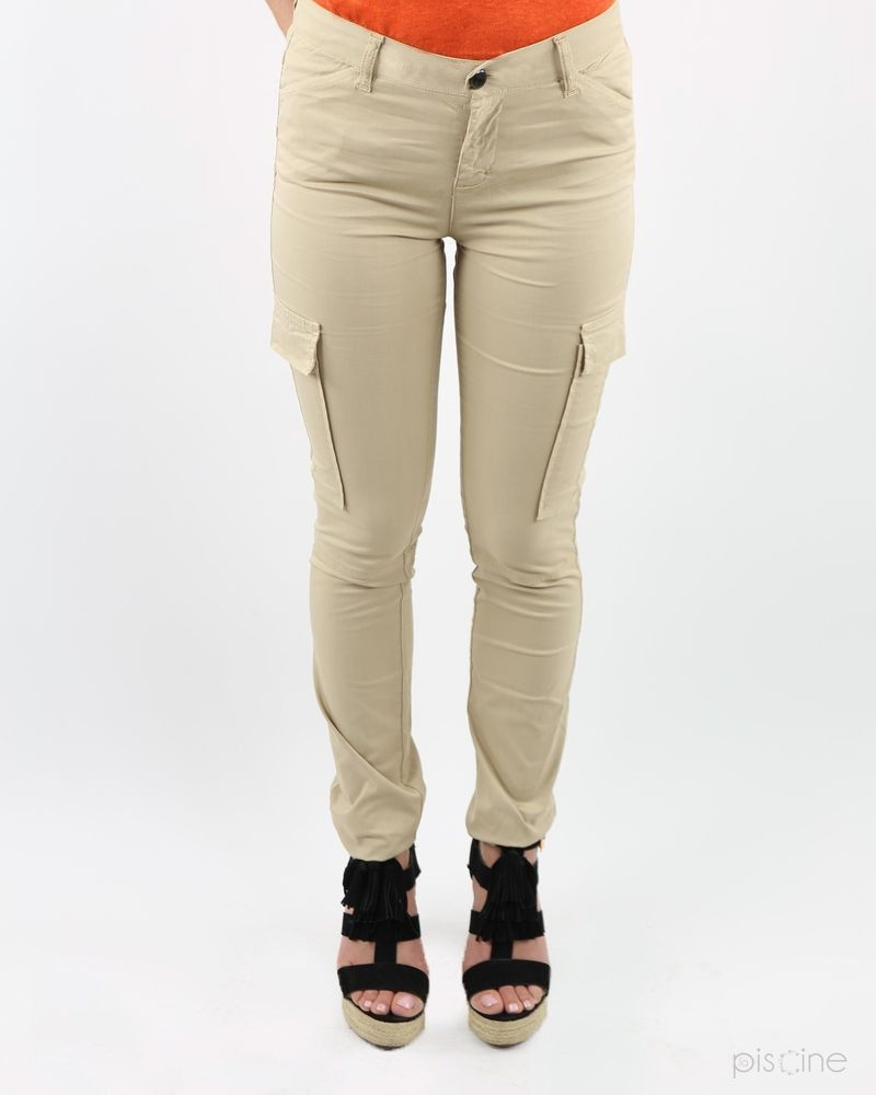 Pantalon cargo beige May June