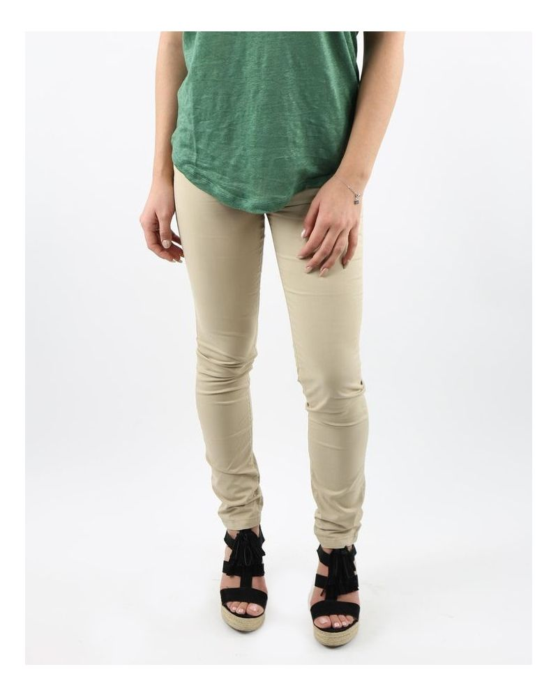 Pantalon cigarette beige May June