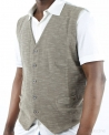 Gilet sans manches taupe Woolgroup