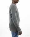 T-Shirt gris manches longues Woolgroup