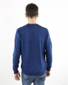 Pull bleu col rond Panicale