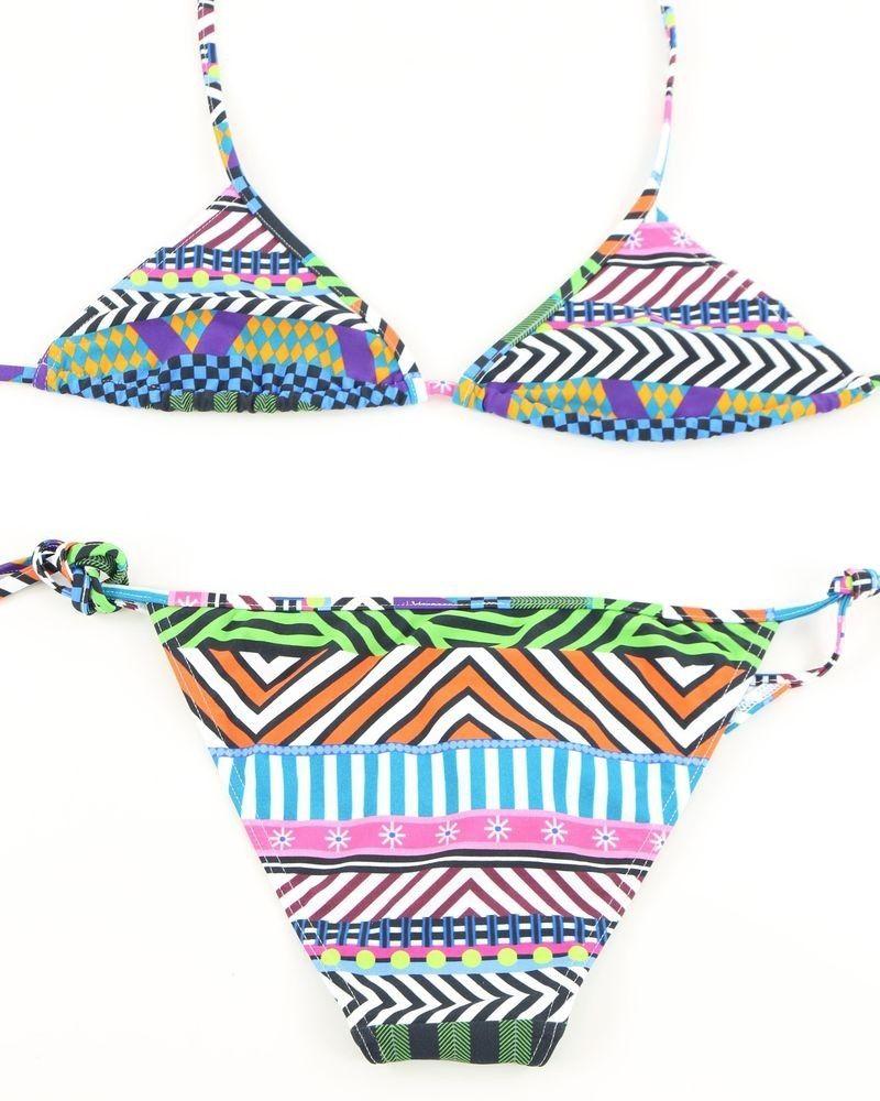 Bikini Multicolore Pamela de Beaumane