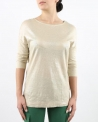 Top beige effet reptile May June