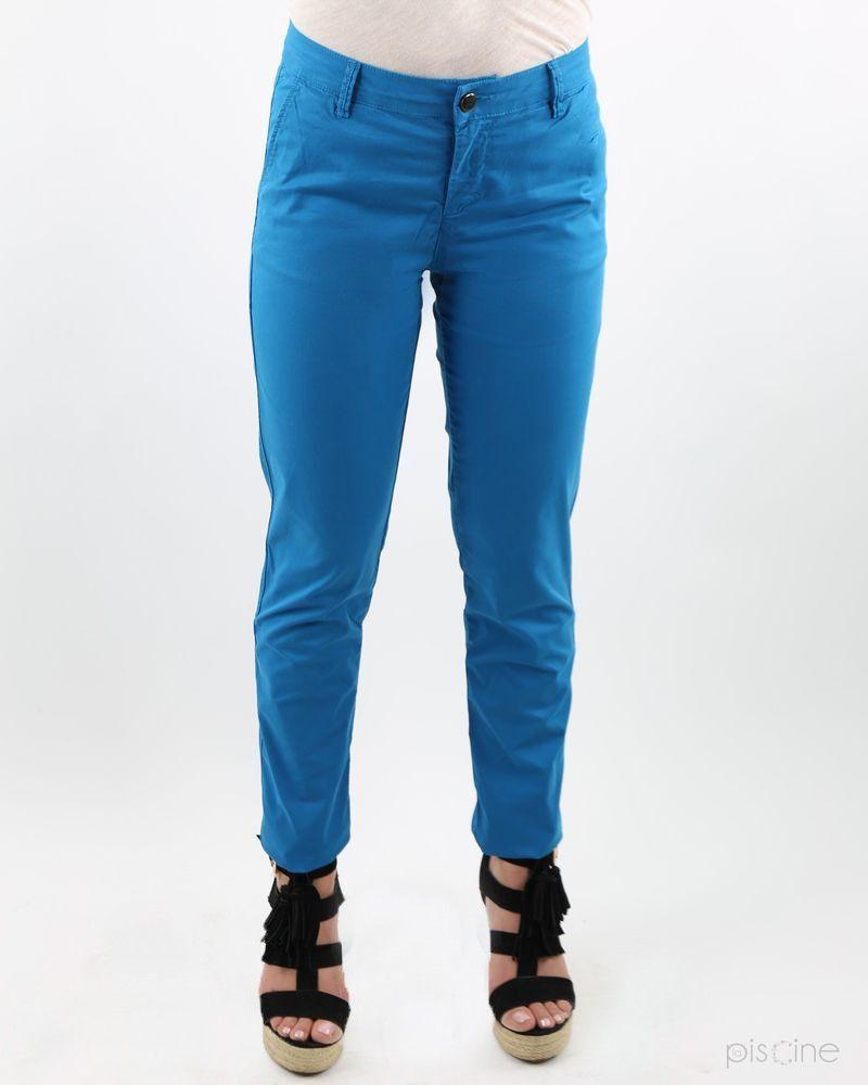 Pantalon cigarette bleu May June