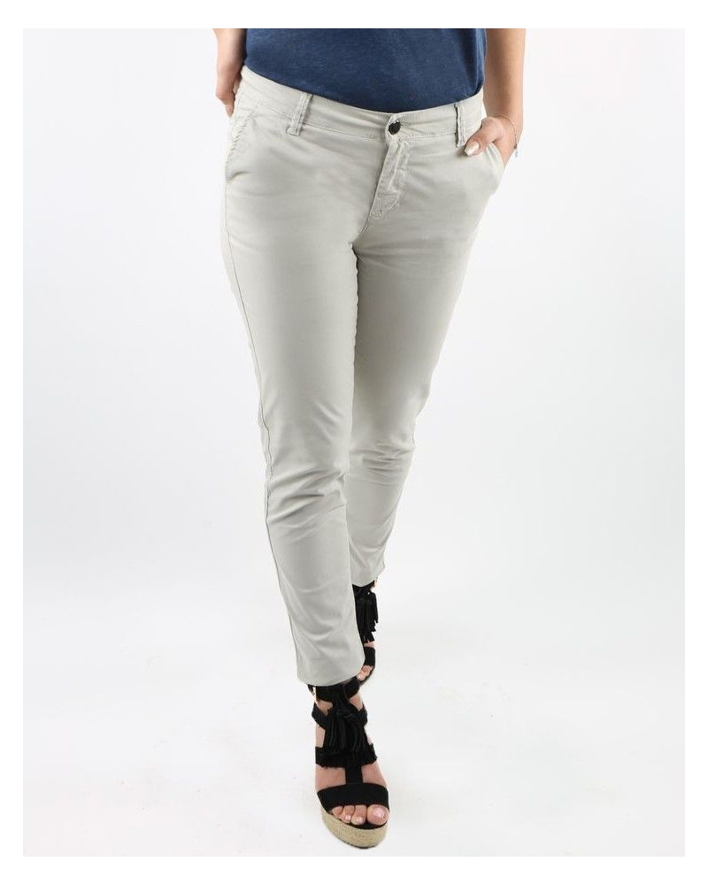 Pantalon gris 7/8 May June