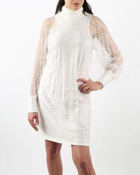 Robe blanche Valentina Vox
