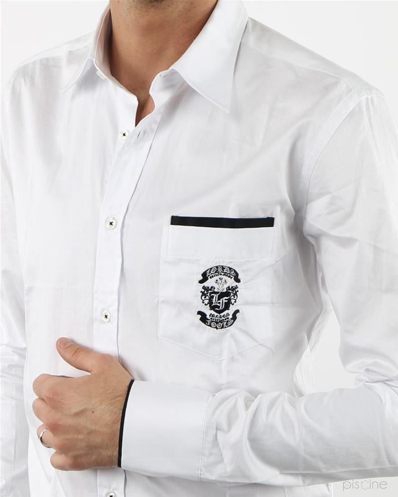 Chemise blanche Lords & Fools