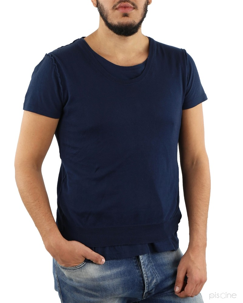 T-Shirt bleu Soho