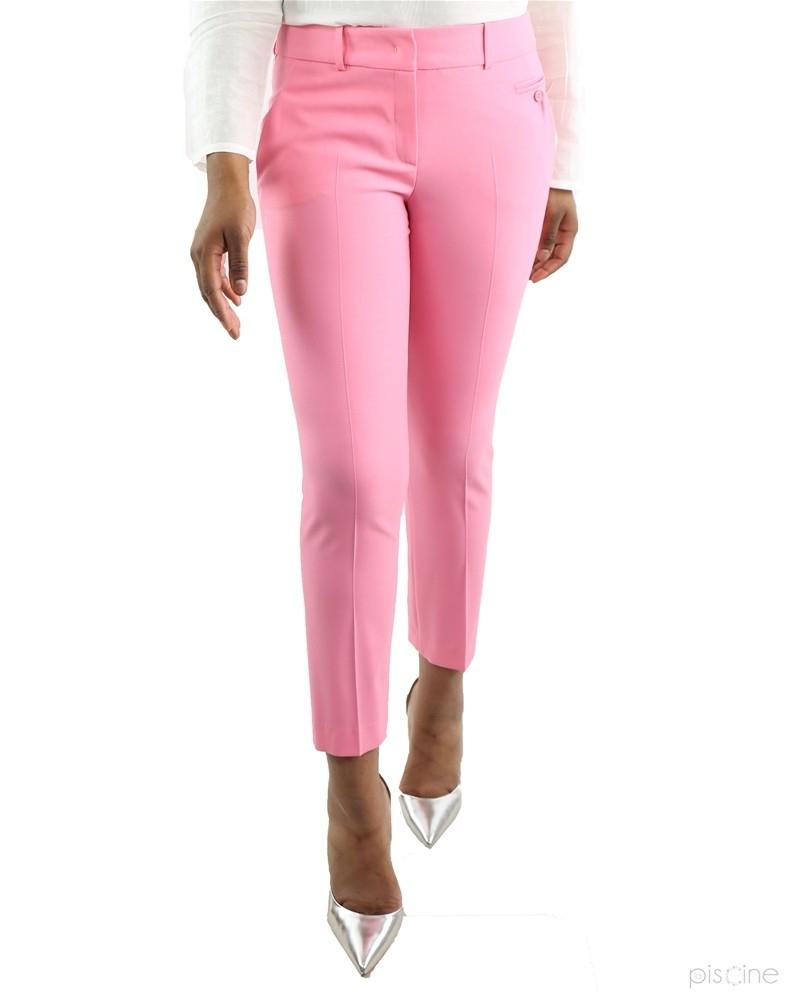 Pantalon droit rose Michael Kors