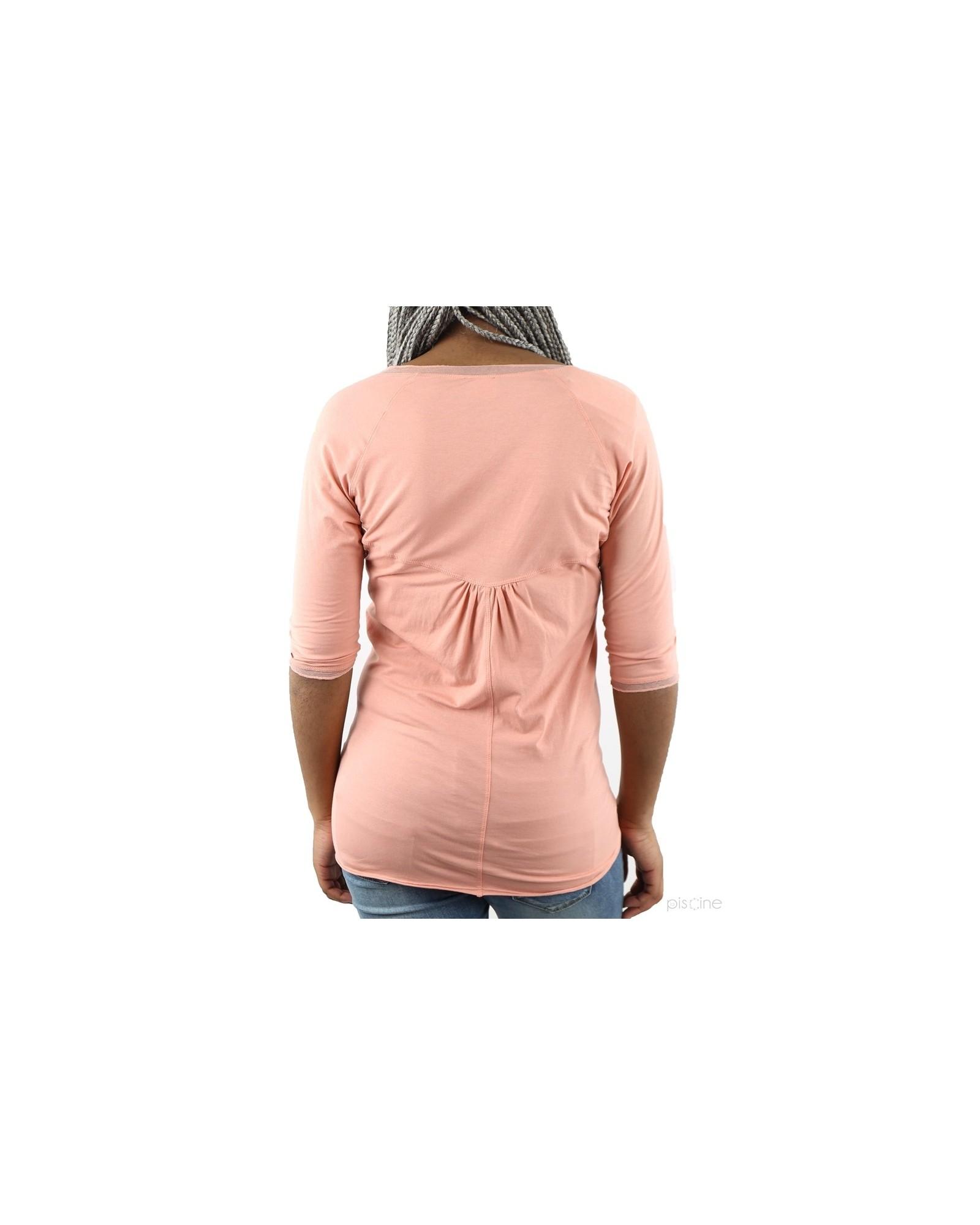 T-Shirt rose Gotha / A La Fois