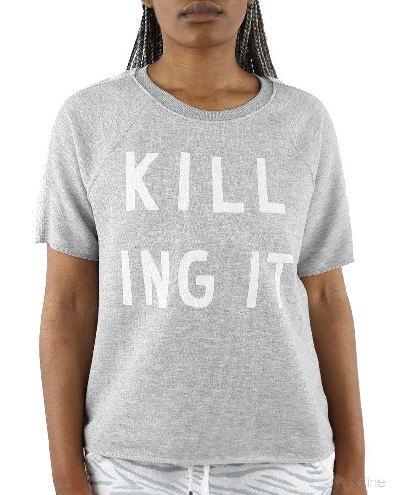 T-Shirt gris Zoe Karssen