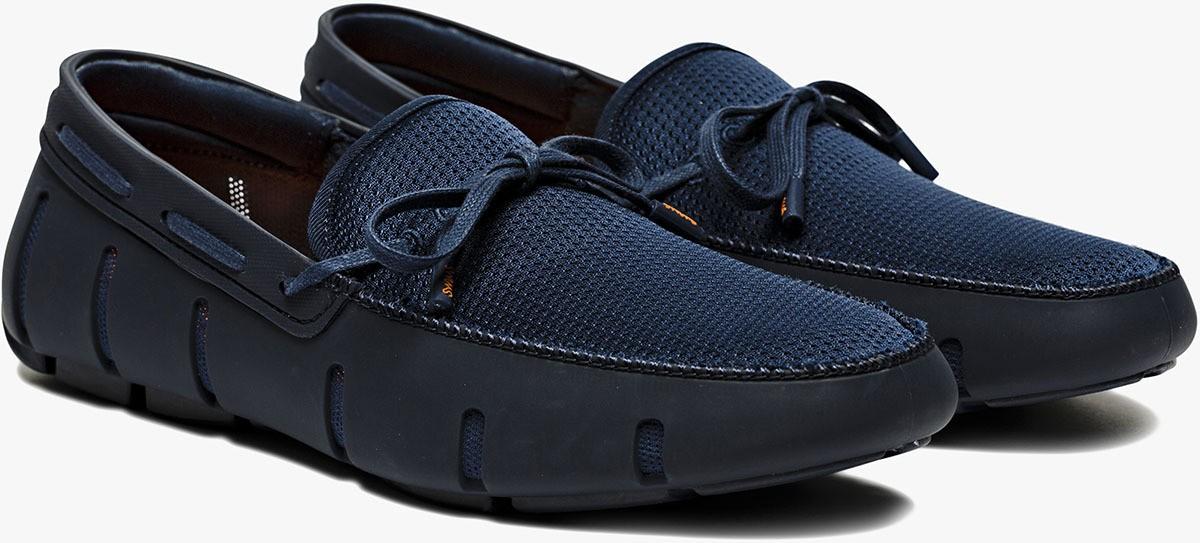 Chaussure bateau bleu Swims