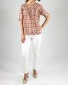 Blouse marron Chloe Stora