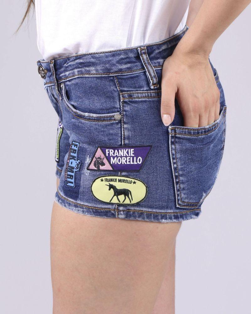 Short en jean Frankie Morello