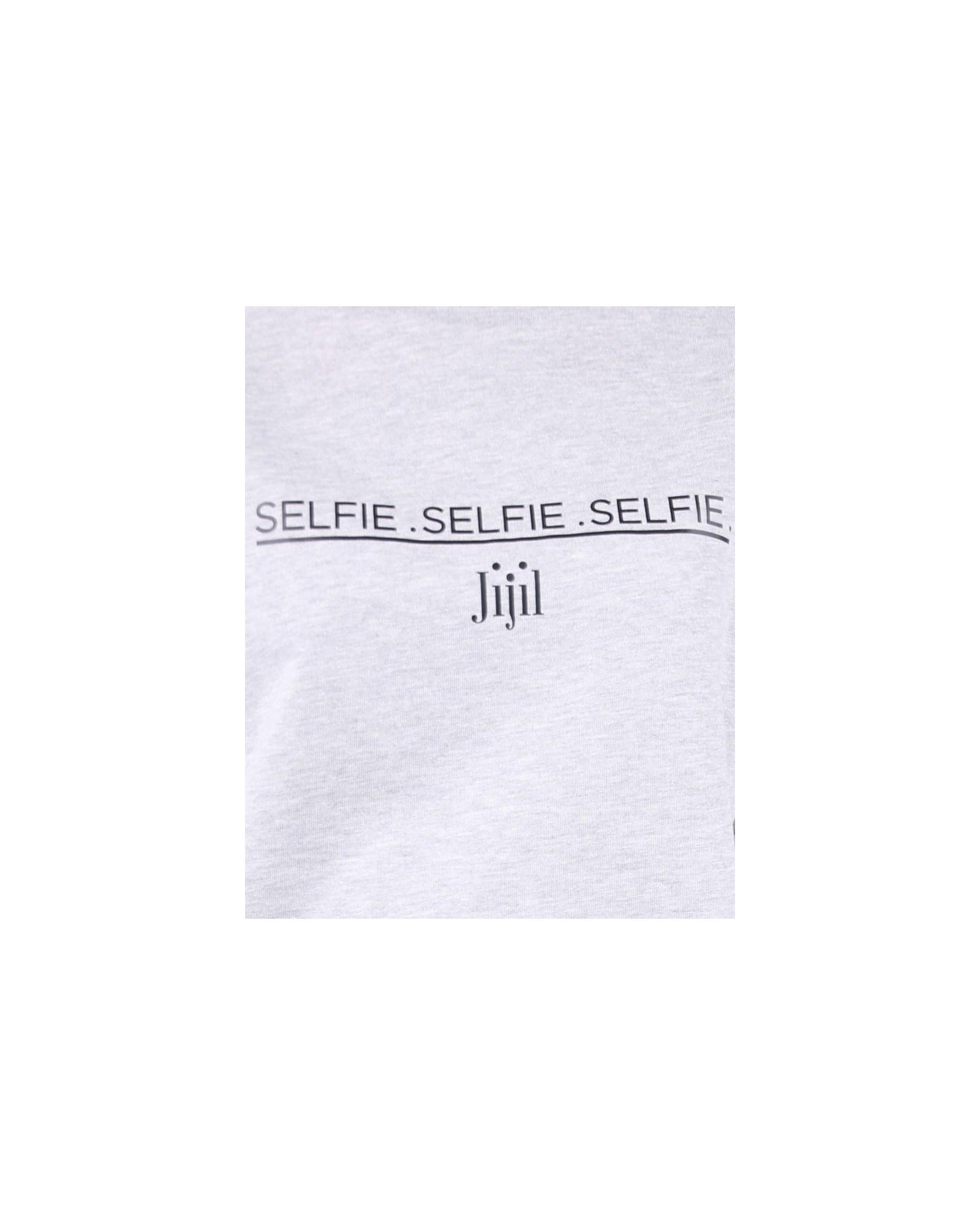 """Sweat """"Selfie"""" gris Jijil"""
