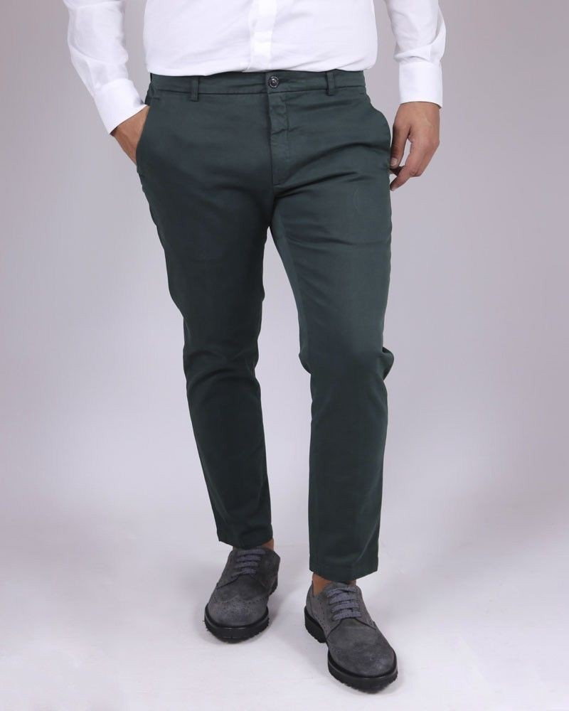 Pantalon chino vert Department 5