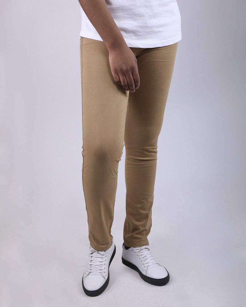 Pantalon 5 poches ocre May June