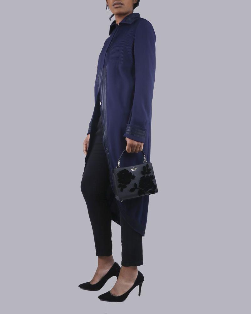 Tunique bleue longue John Galliano